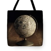 Vintage Moon Globe Tote Bag
