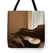 Vintage Music Tote Bag