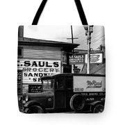 Vintage New Orleans 1936 Tote Bag