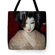 Vintage Nishi Doll Tote Bag