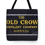 Vintage Old Crow - D008693 Tote Bag