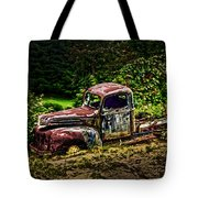 Vintage Old Forty's Pickup Tote Bag