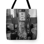 Vintage Old Gas Pump Tote Bag