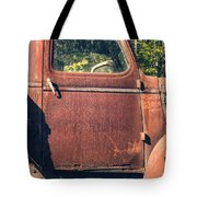 Vintage Old Rusty Truck Tote Bag