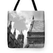 Vintage Ornate Architecture Tote Bag