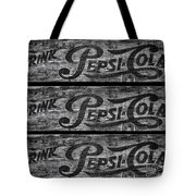 Vintage Pepsi Boxes Tote Bag
