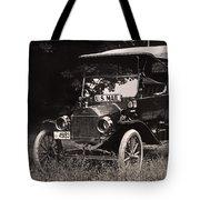 Vintage Photo Of Rural Mail Carrier - 1914 Tote Bag