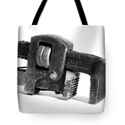 Vintage Pipe Wrench Tote Bag