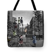 Vintage Playground Tote Bag