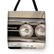 Vintage Pontiac Firebird 1967 Close Up Tote Bag