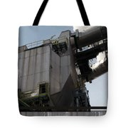 Vintage Power Plant  Part View Industrial Photography Tote Bag