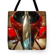 Vintage Propeller Airplane Tote Bag