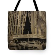 Vintage Radio City Music Hall Tote Bag