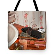 Vintage Reading Glasses Still Life Art Prints Tote Bag