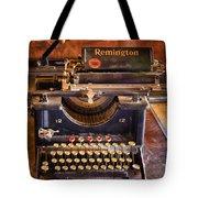 Vintage Remington Typewriter  Tote Bag
