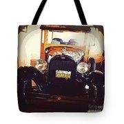 Vintage Ride  Tote Bag