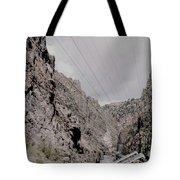 Vintage Rio Grande Royal Gorge By Lynn Bramkamp Tote Bag
