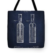 Vintage Rock Candy  Patent Drawing From 1881 Tote Bag by Aged Pixel