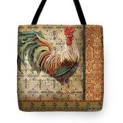 Vintage Rooster-a Tote Bag