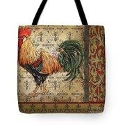 Vintage Rooster-d Tote Bag