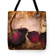 Vintage Rose Petals Tote Bag