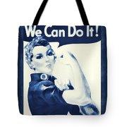 Vintage Rosie The Riveter Tote Bag by Dan Sproul