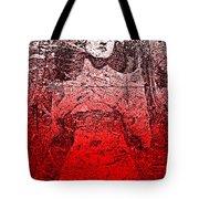 Vintage Ruby Portrait Tote Bag