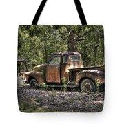 Vintage Rust Tote Bag by Benanne Stiens