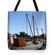 Vintage Sailing Boat - Ct Tote Bag