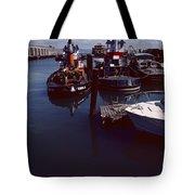 Vintage San Francisco Waterfront Tote Bag