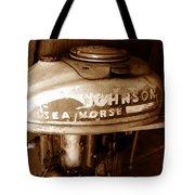 Vintage Sea Horse Tote Bag