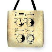 Vintage Self-winding Watch Movement Patent Tote Bag