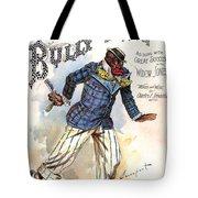 Vintage Sheet Music Cover 1896 Tote Bag