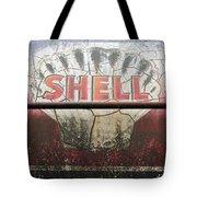 Vintage Shell Oil Rail Tanker Car Tote Bag