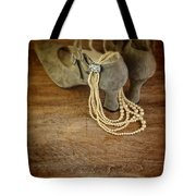 Vintage Shoes And Pearls Tote Bag