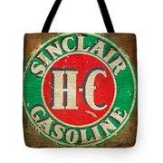 Vintage Sinclair Gasoline Sign Tote Bag