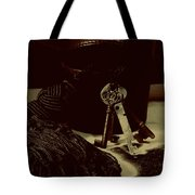 Vintage Skeleton Keys _tassle Nbr 3 Tote Bag