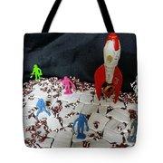 Vintage Space Exploration Tote Bag