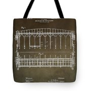 Vintage Starting Gate Patent Tote Bag