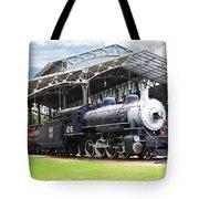 Vintage Steam Locomotive 5d29281 V2 Tote Bag