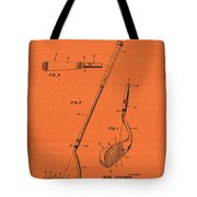 Vintage Stecher Gold Club Patent - 1960 Tote Bag