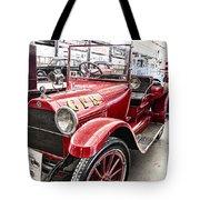 Vintage Studebaker Fire Engine Tote Bag by Douglas Barnard