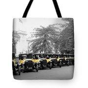 Vintage Taxis 3 Tote Bag