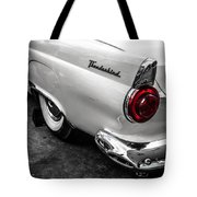 Vintage Ford Thunderbird Tote Bag