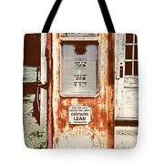 Vintage Tokheim Gas Pump Tote Bag