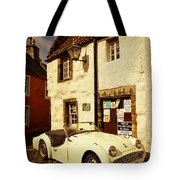 Vintage Touch. Culross Sketches. Scotland Tote Bag