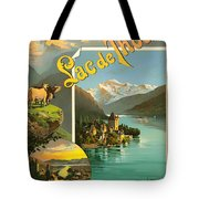 Vintage Tourism Poster 1890 Tote Bag by Mountain Dreams