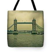 Vintage Tower Bridge Tote Bag