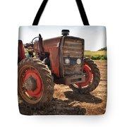 Vintage Tractor Tote Bag