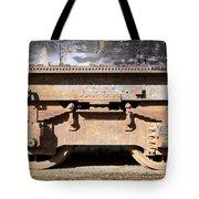 Vintage Train Tote Bag